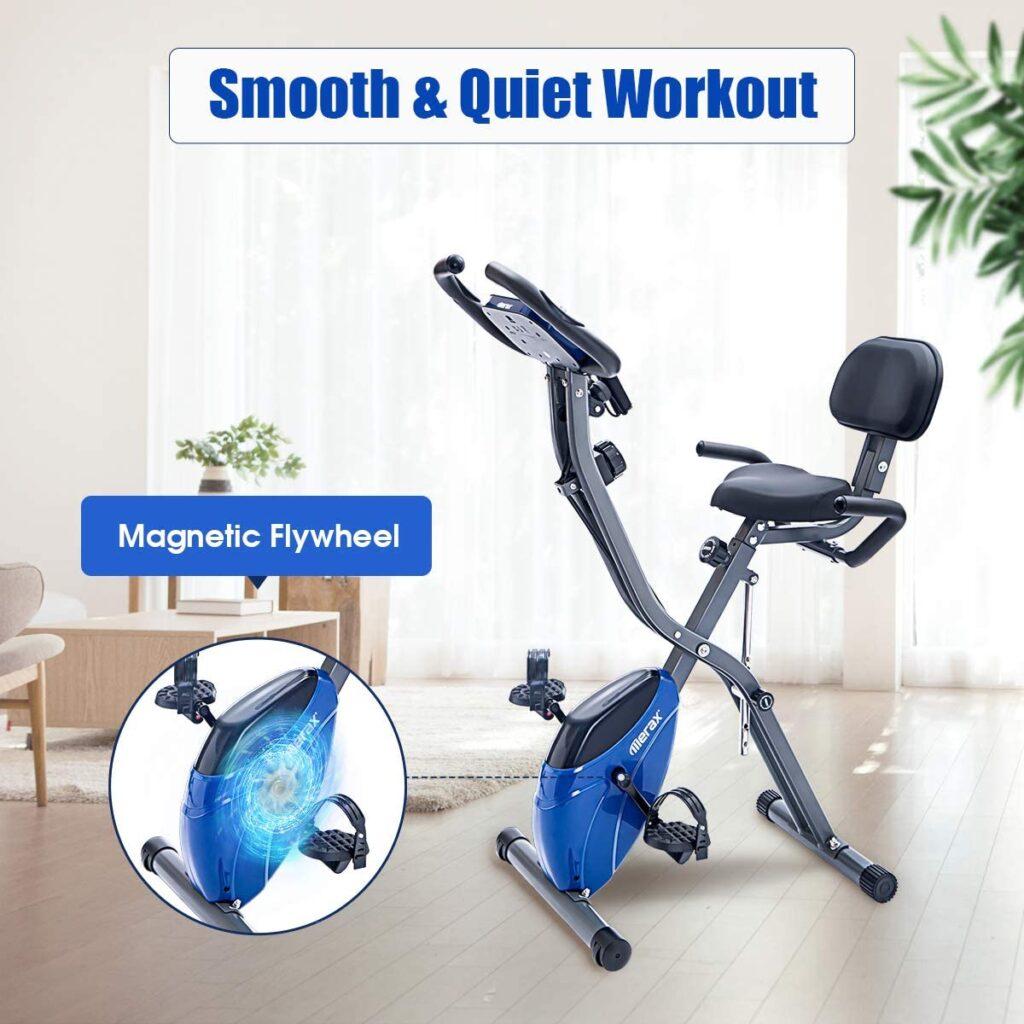 Lightweight Recumbent Exercise Bike