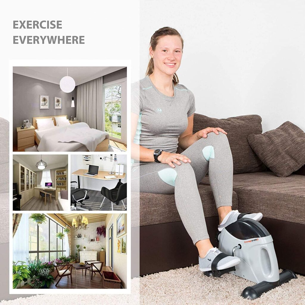 After surfing through thousands of websites, we have come up with the 7 best mini exercise bikes for elderly. All of the exercise bikes mentioned in our list consist of premium-quality